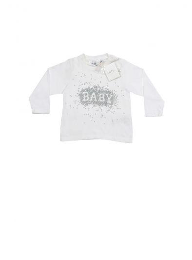 BABY DIOR WHITE CLASSIC MONOGRAM T SHIRT