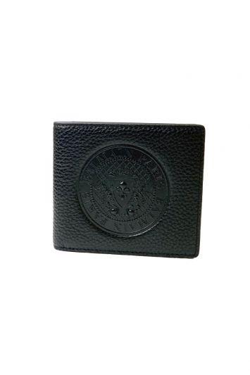 BALMAIN EMBOSSED BLACK WALLET RT60-10