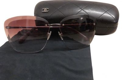 CHANEL BUTTERFLY SQUARE SUNGLASSES