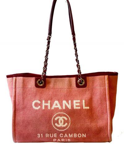 CHANEL DEAUVILLE CAMBON TOTE BAG