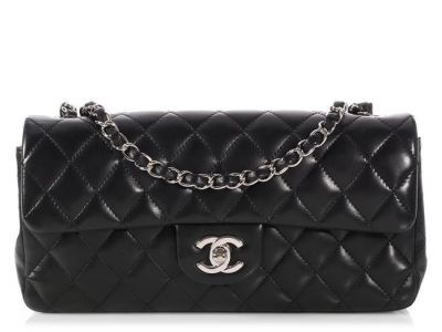 CHANEL EAST WEST FLAP QUILTED BAG