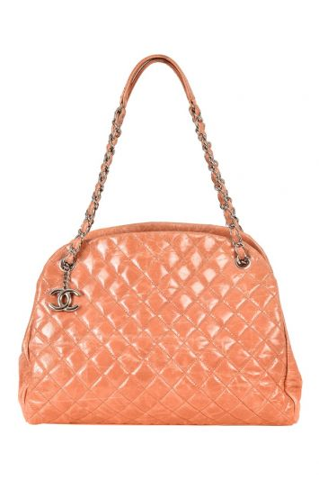 CHANEL QUILTED MADEMOISELLE BOWLER BAG