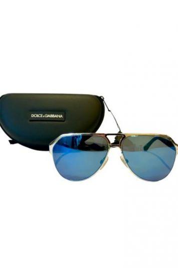 Dolce & Gabbana Molded Rubber Sunglasses