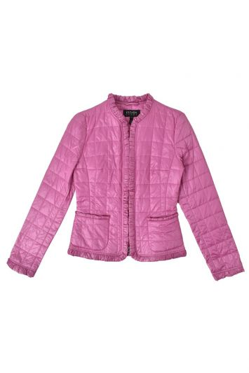 ESCADA QUILTED LEATHER JACKET
