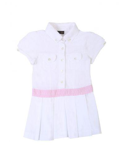 FENDI WHITE & PINK TENNIS DRESS