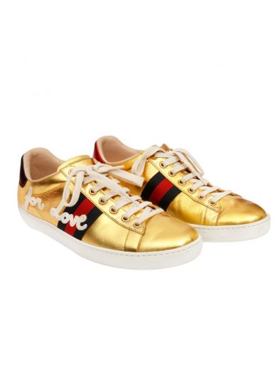 GUCCI GOLDEN ACE SNEAKERS