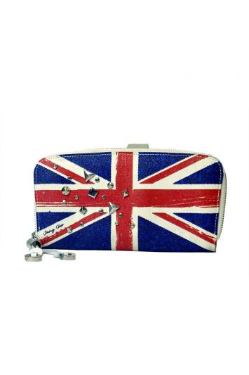 JIMMY CHOO LIMITED EDITION UNION JACK WALLET