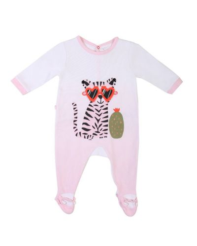 LITTLE MARC JACOBS BABY TIGER WITH SUNGLASSES ROMPER