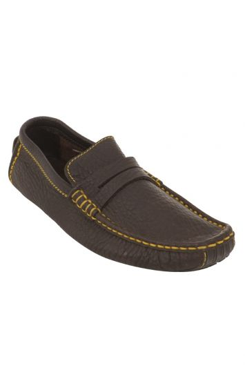 LOUIS VUITTON LEATHER LOAFERS