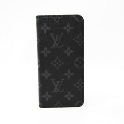 LOUIS VUITTON MONOGRAM ECLIPSE PHONE FLIP COVER