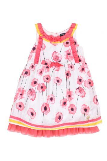 MISS BLUMARINE FLORAL DRESS