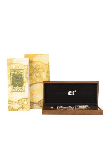 MONT BLANC LIMITED EDITION HOMAGE ANDREW CARNEGIE FOUNTAIN PEN