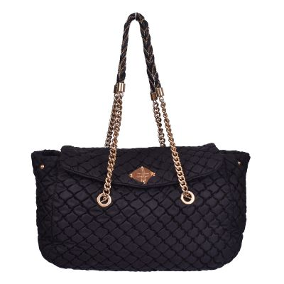 MOSCHINO QUILTED TECHNO FABRIC BAG
