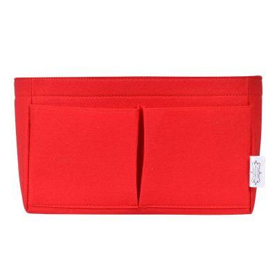 POCHETTE DE LUXE RED BAG ORGANIZER
