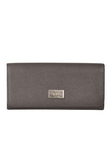 TOD'S BIFOLD LEATHER WALLET