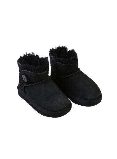UGG BLACK BAILEY II BOOTS