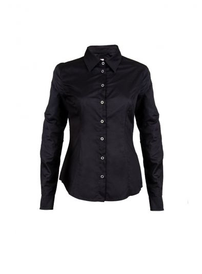 VERSACE JEANS COUTURE BLACK CLASSIC SHIRT