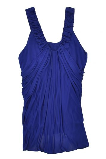VERSACE RUCHED TOP